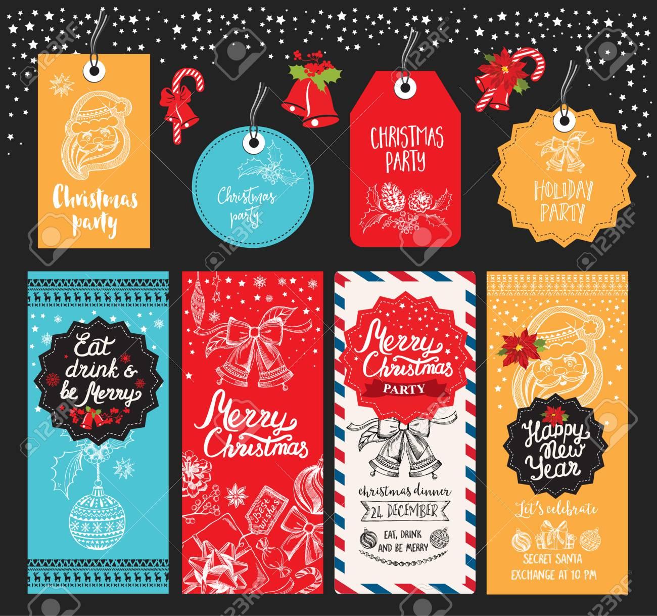 Weihnachten Restaurant Broschüre, Menüvorlage. Vector Urlaub ...