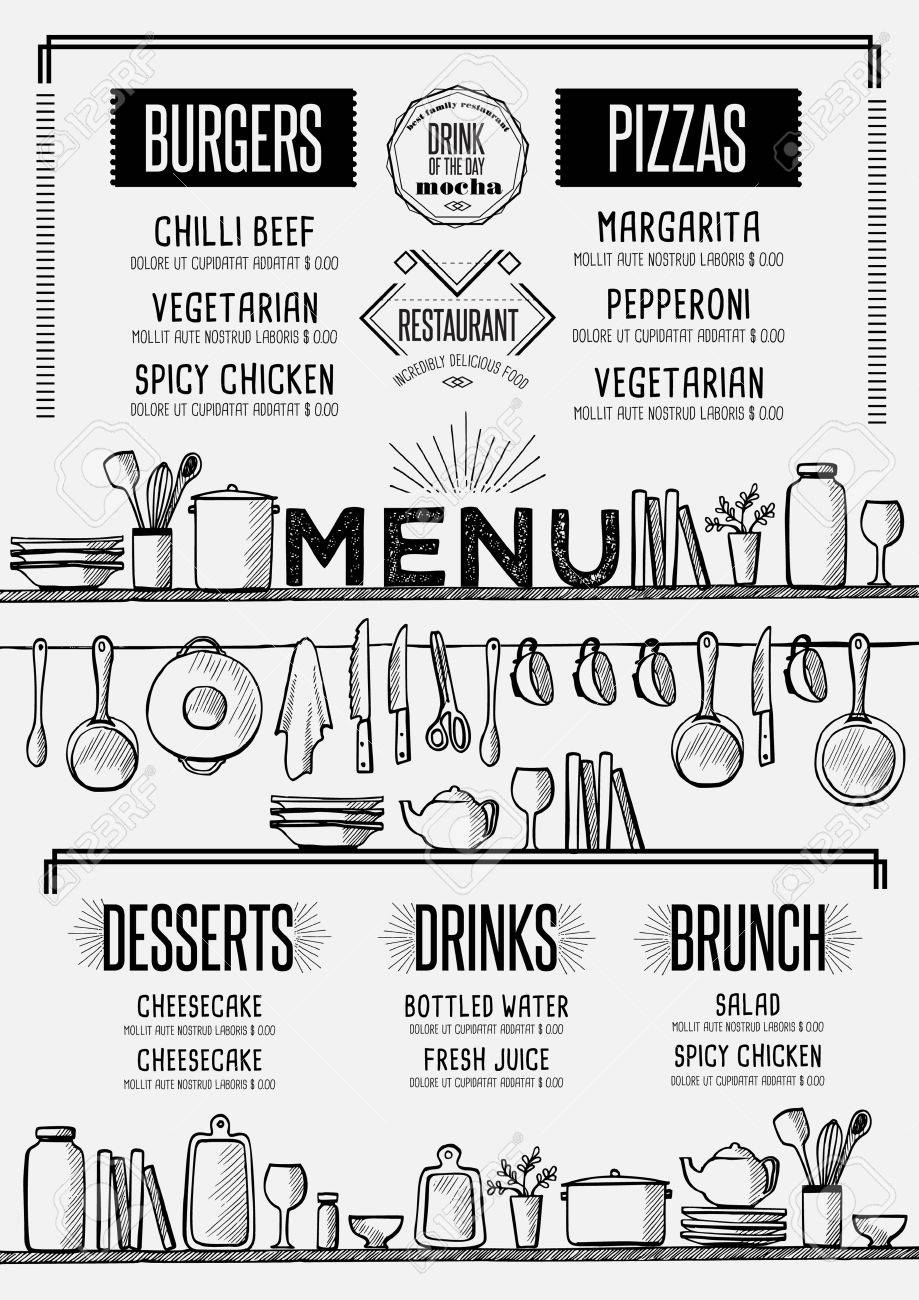Excellent Concession Stand Menu Template Ideas - Entry Level Resume ...