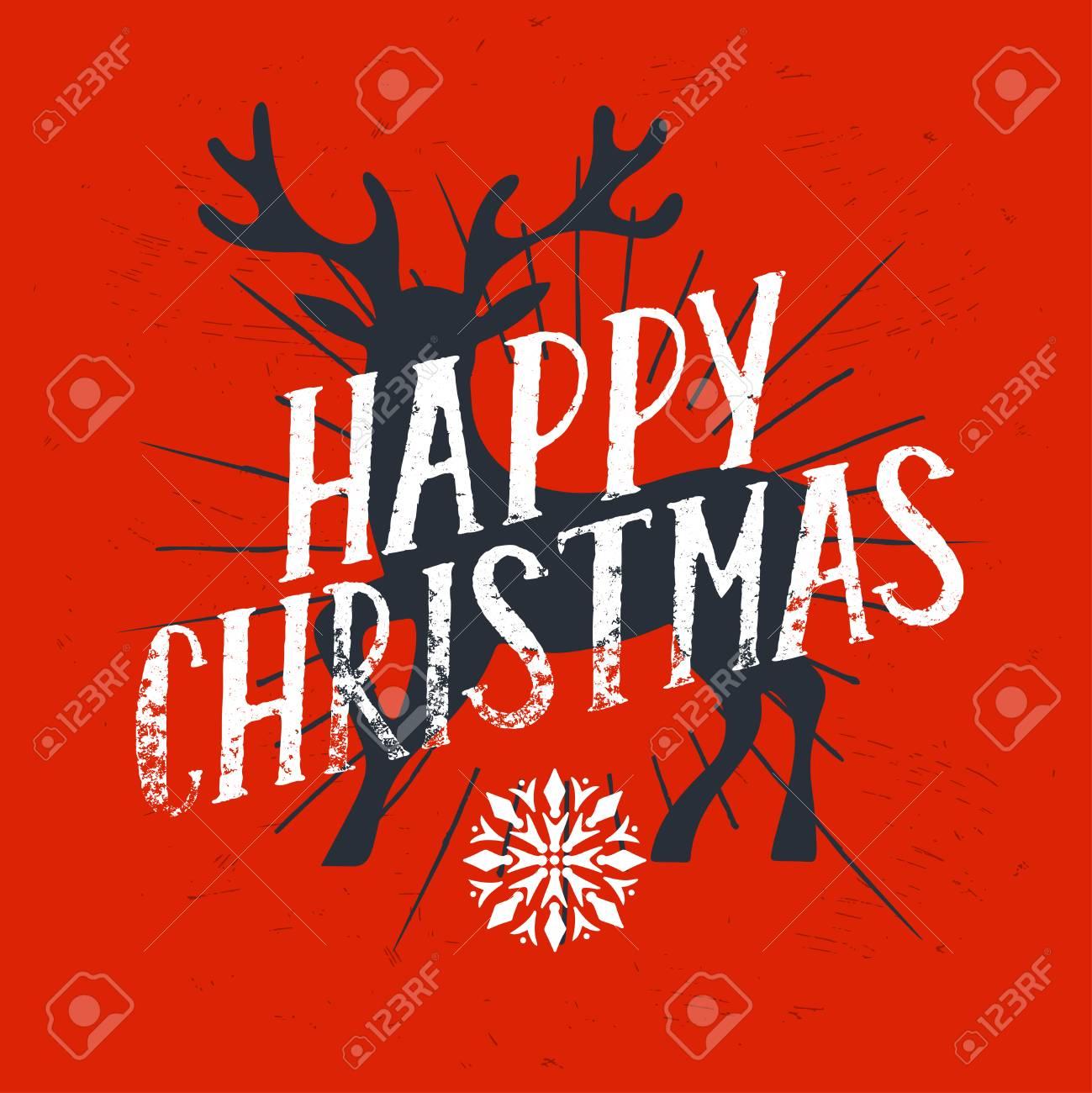 Cartel De Navidad Para Fiesta, Plantilla De Diseño Con La Navidad Y ...