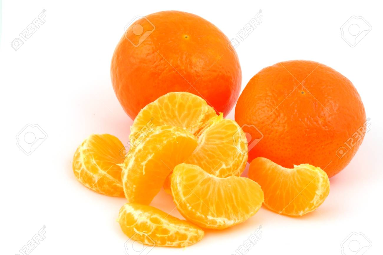 Mandarines, tangerines, clementines Stock Photo - 17285660
