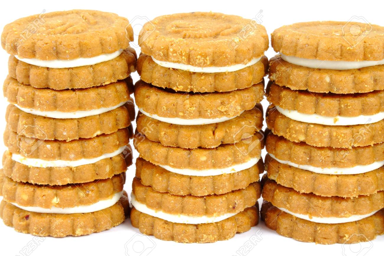Cookies stacks Stock Photo - 17542788