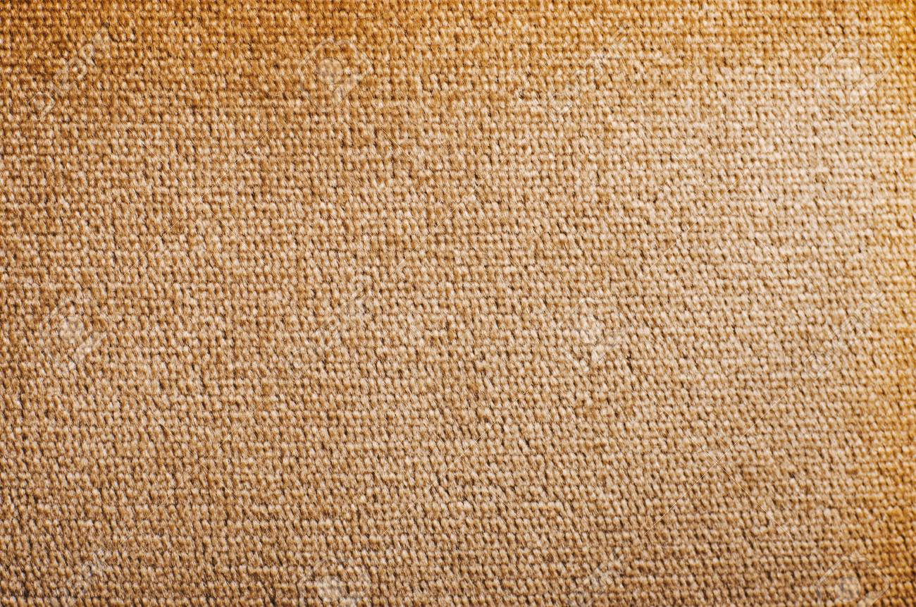 Brown Velvet Fabric Texture From Sofa