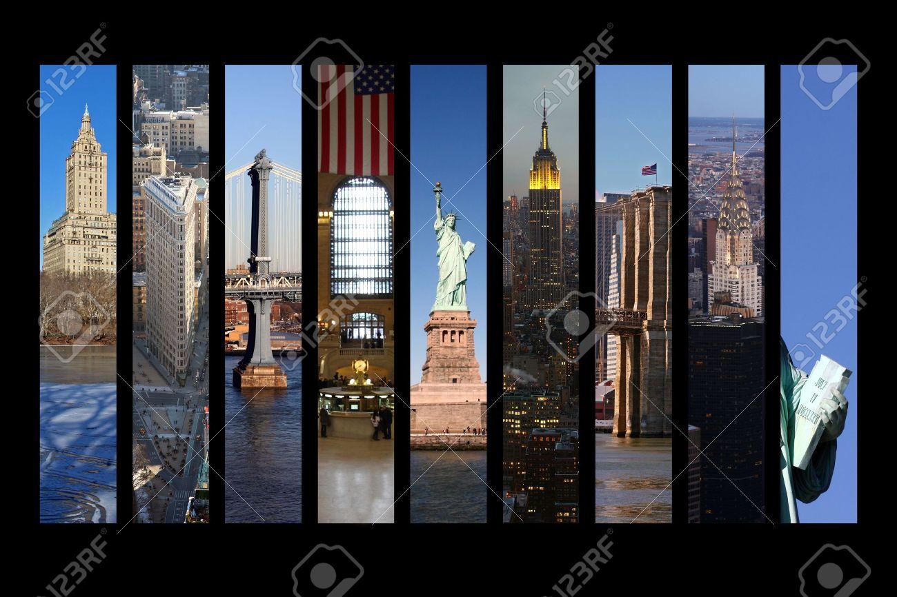 New York City Collage Stock Photo - 13069787