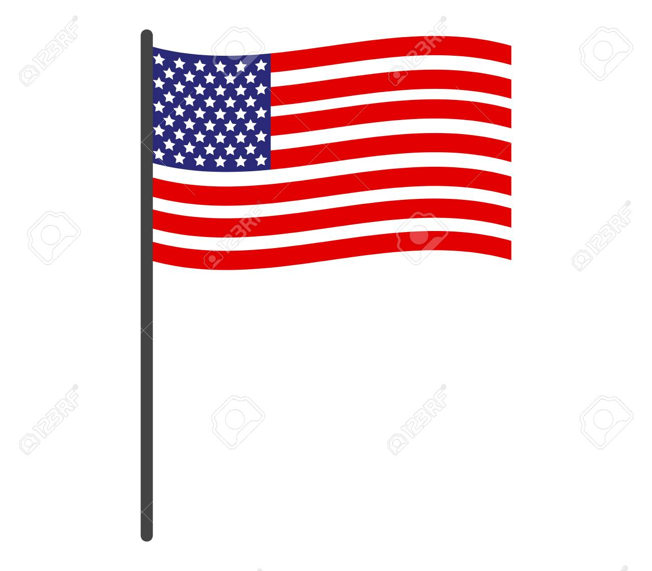 Image result for american flag icon