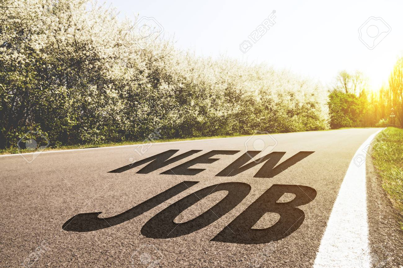 Road to new job - 93791616
