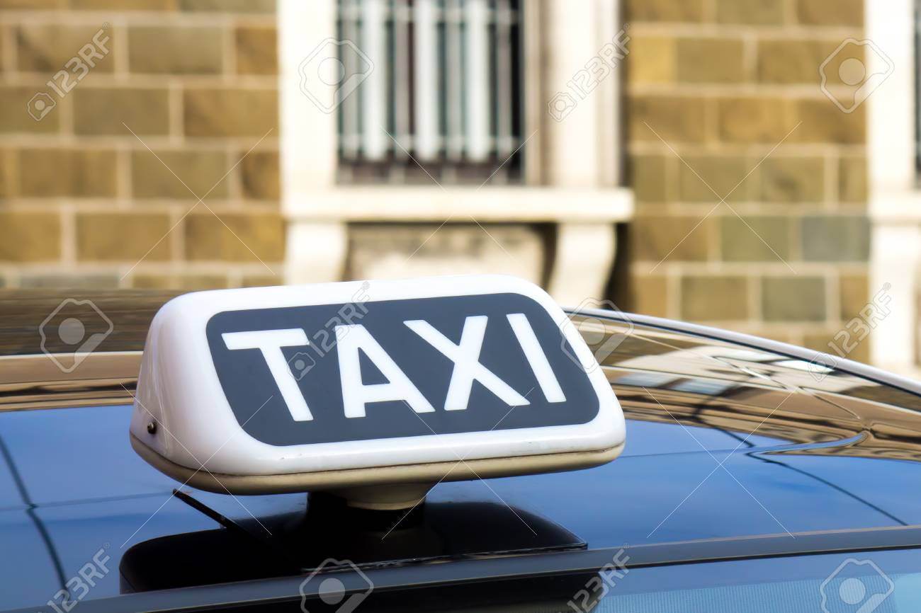White symbol of the taxi on a car stock photo picture and royalty white symbol of the taxi on a car stock photo 34329459 biocorpaavc Choice Image