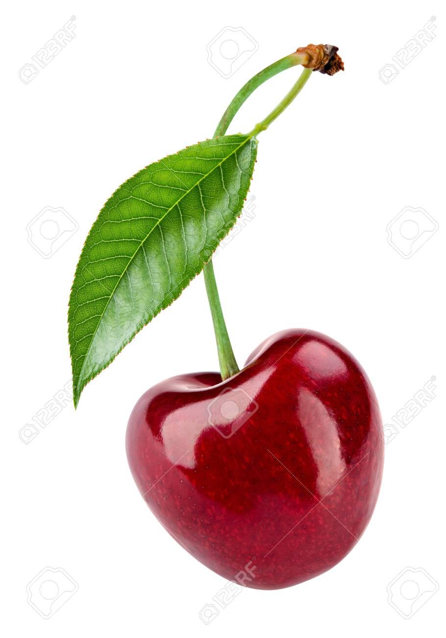 Cherry on white background. - 139924590
