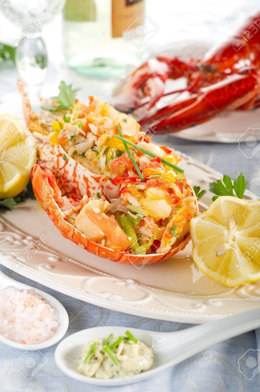 catalan lobster- aragosta alla catalana Stock Photo - 10242547