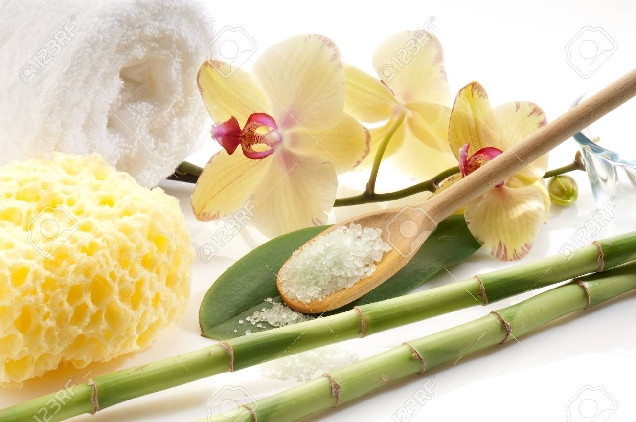 aromatherapy and spa concept Stock Photo - 10392827
