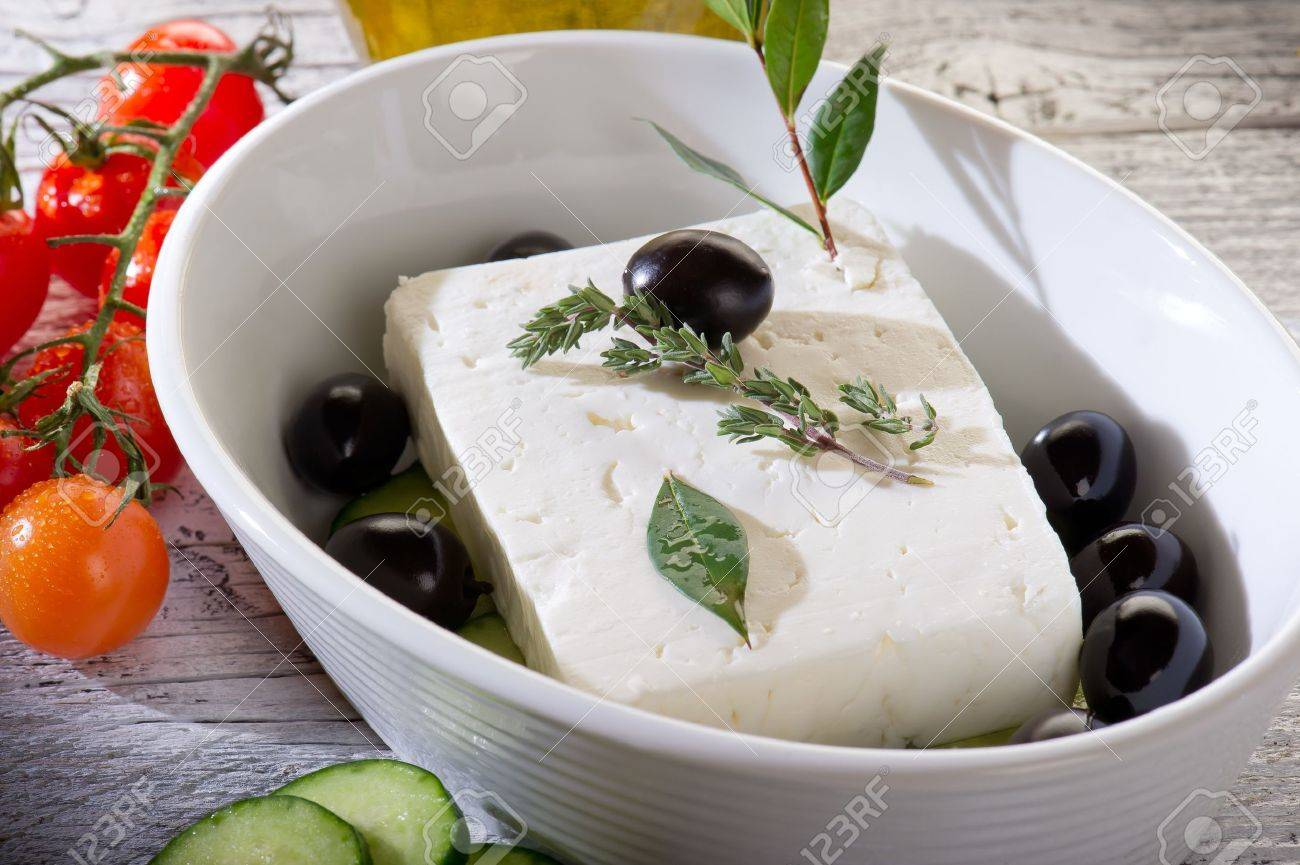 feta  traditional greek cheese Stock Photo - 10426519