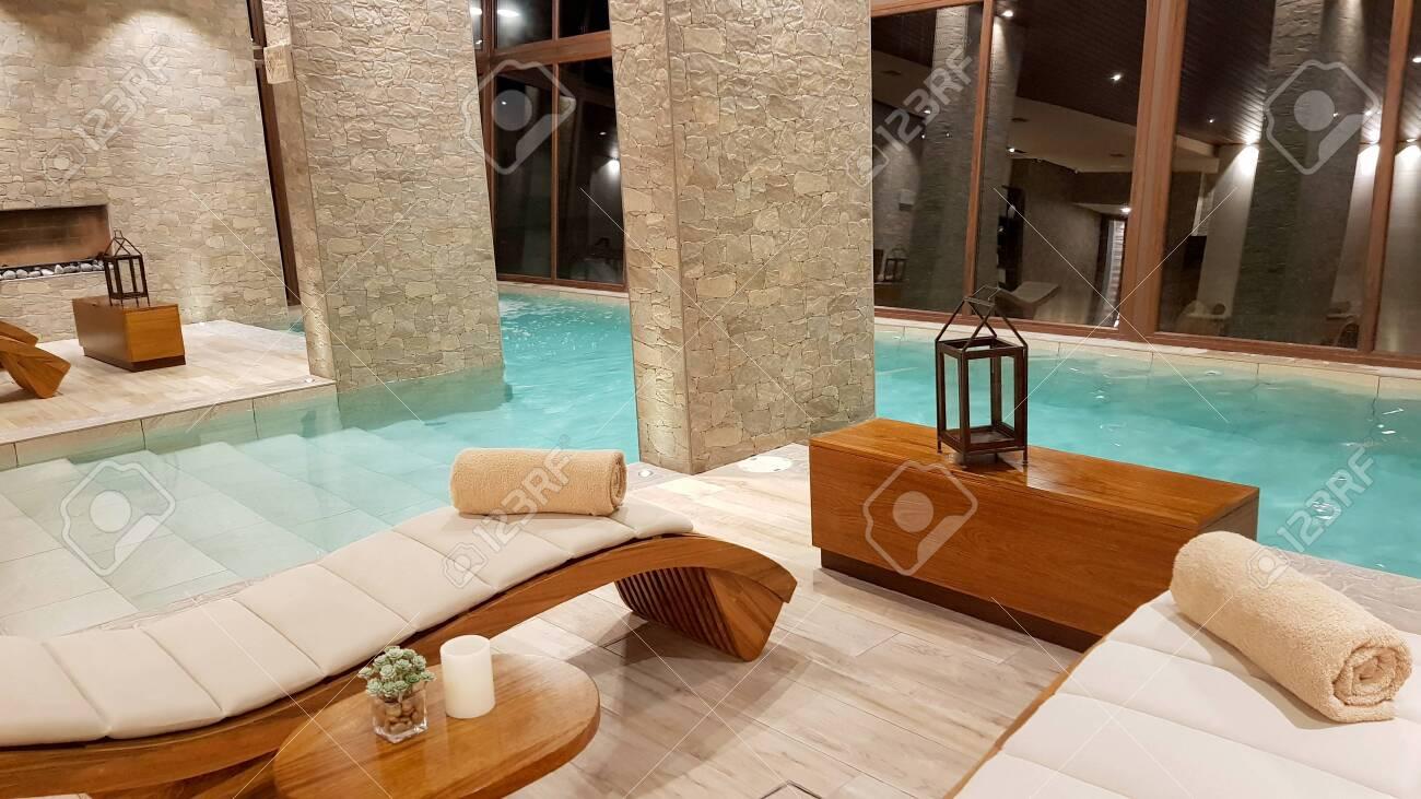 Swimming Pool Inside The Splendid Hotel Palacio De Sal At The