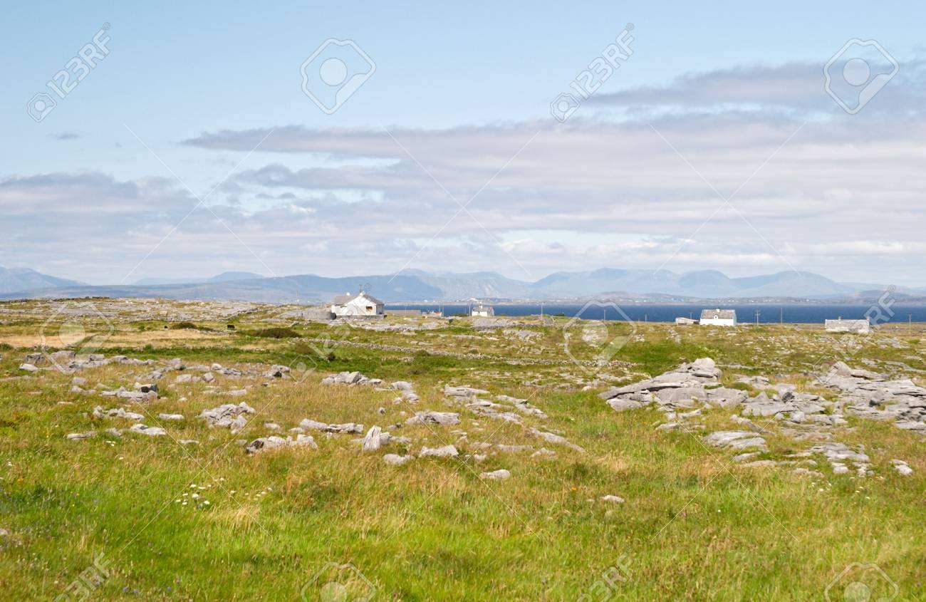 Aran islands landscape, Inis M�r, Ireland Stock Photo - 519111
