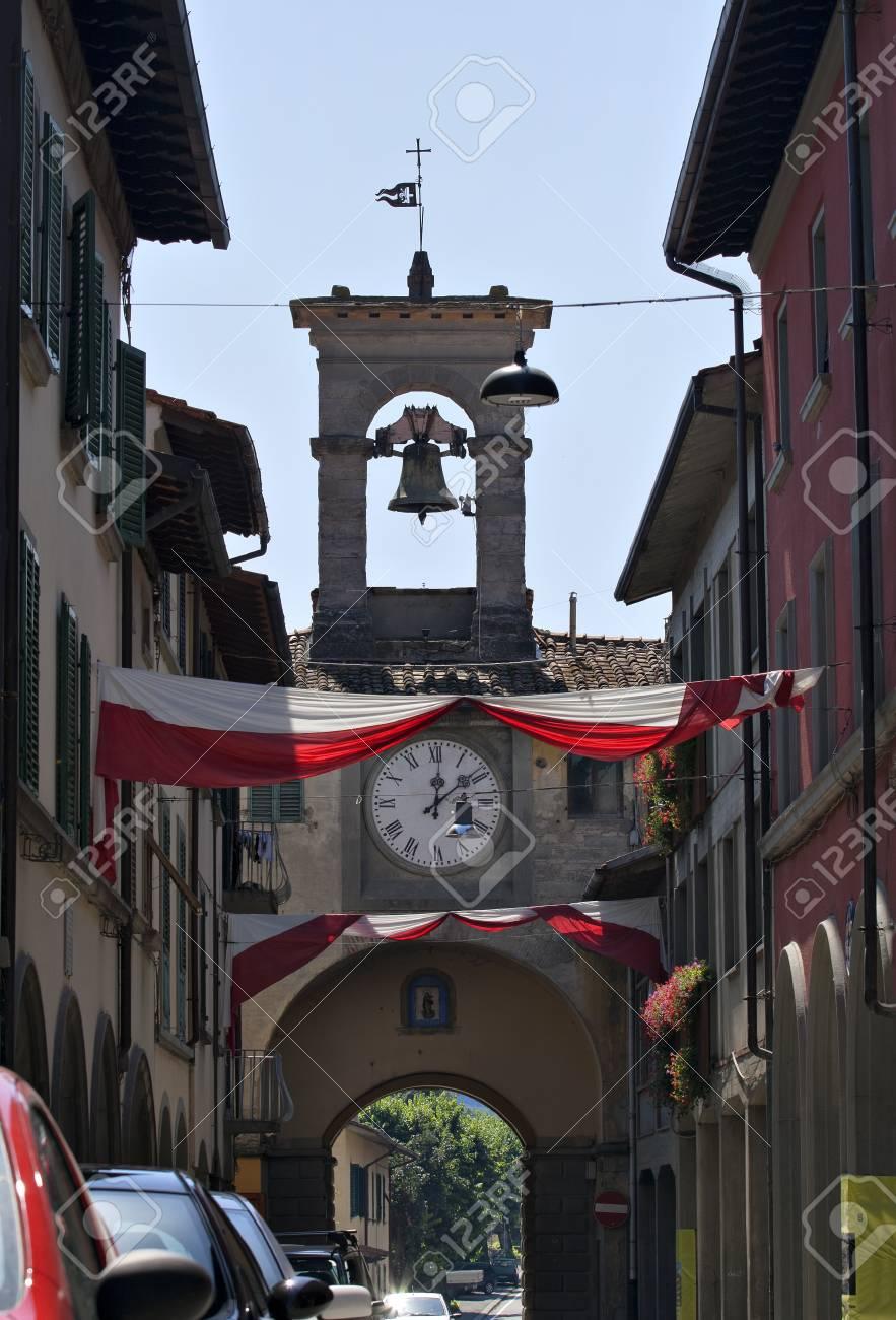 Firenzuola small town in Tuscany, Italy Stock Photo - 10499665