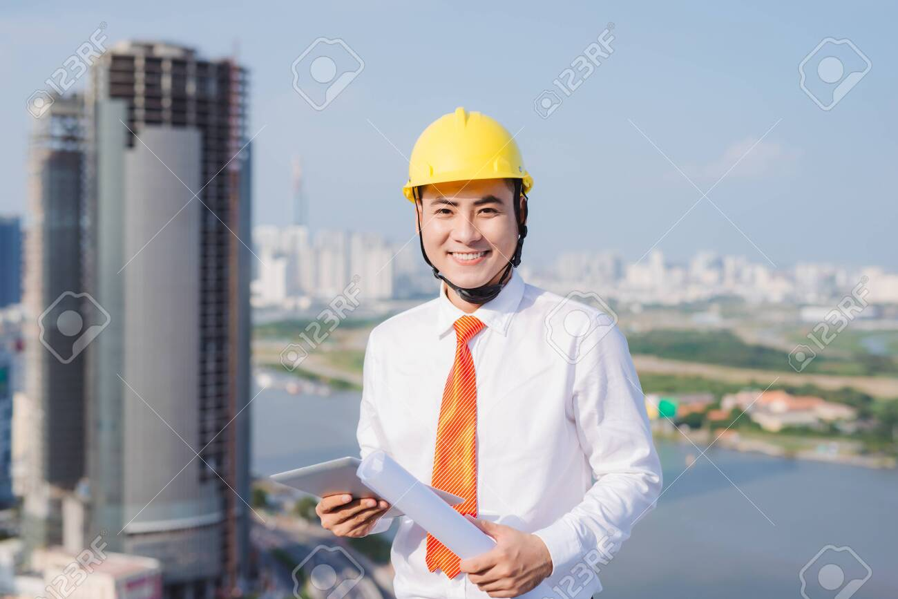 Male work building construction engineering occupation project - 121037014