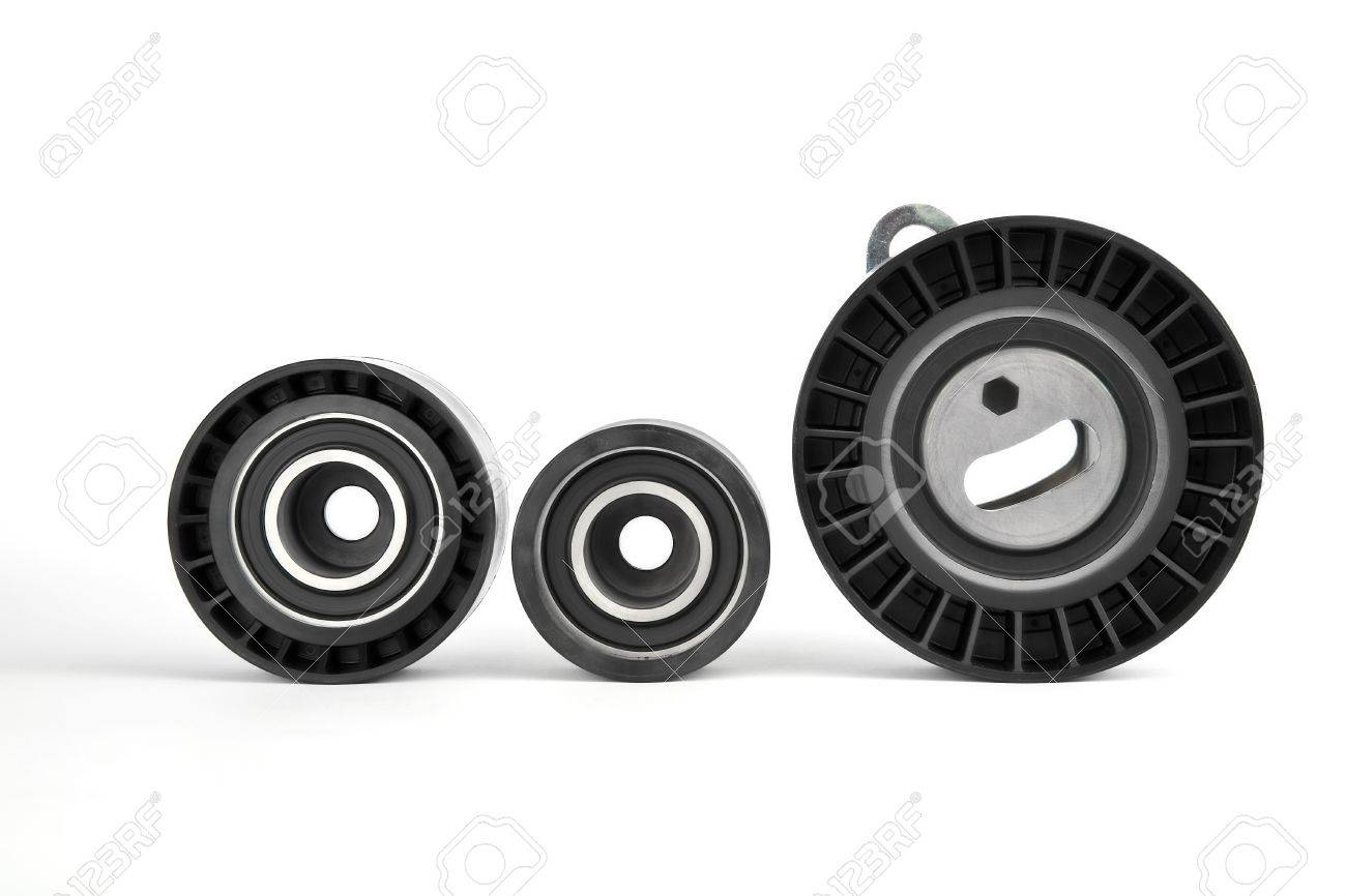 pulley, roller and tensioner Stock Photo - 11326359