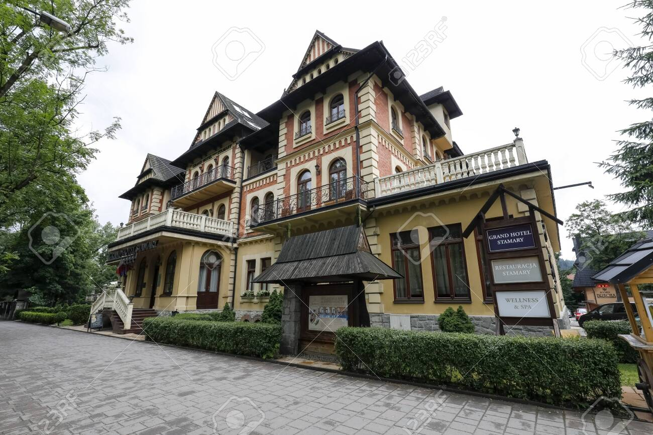 Zakopane Poland July 11 2019 This Building Houses The Grand Stock Photo Picture And Royalty Free Image Image 131611527