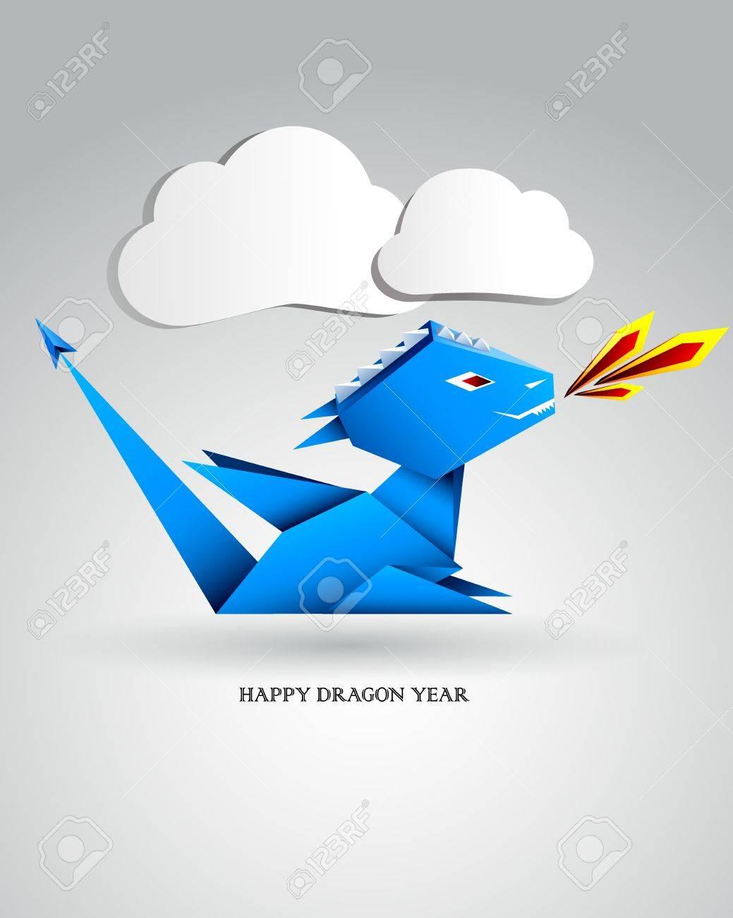 Little Origami Dragon - 11432795