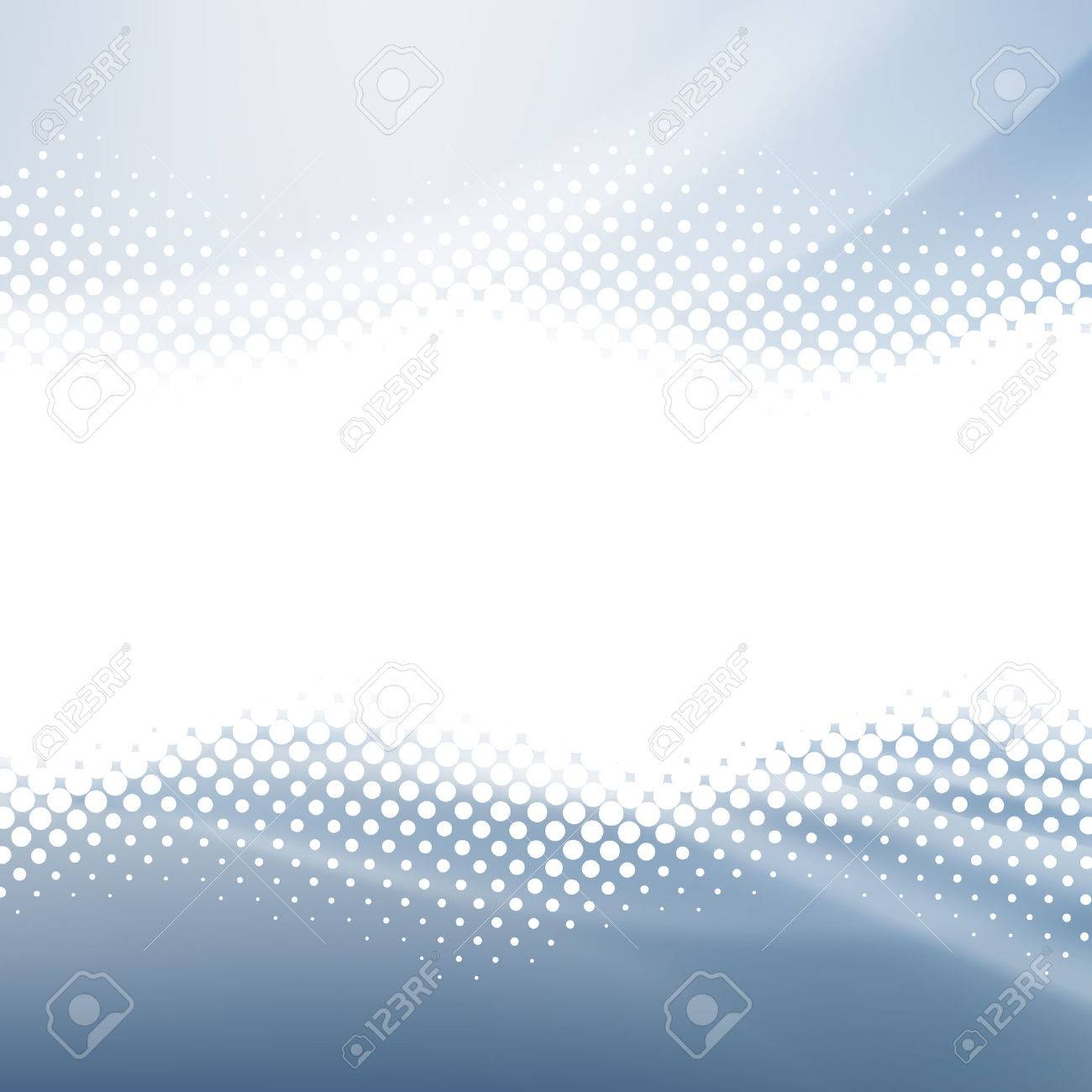 Abstract Background. White Halftone on the Blue Background. - 40685539