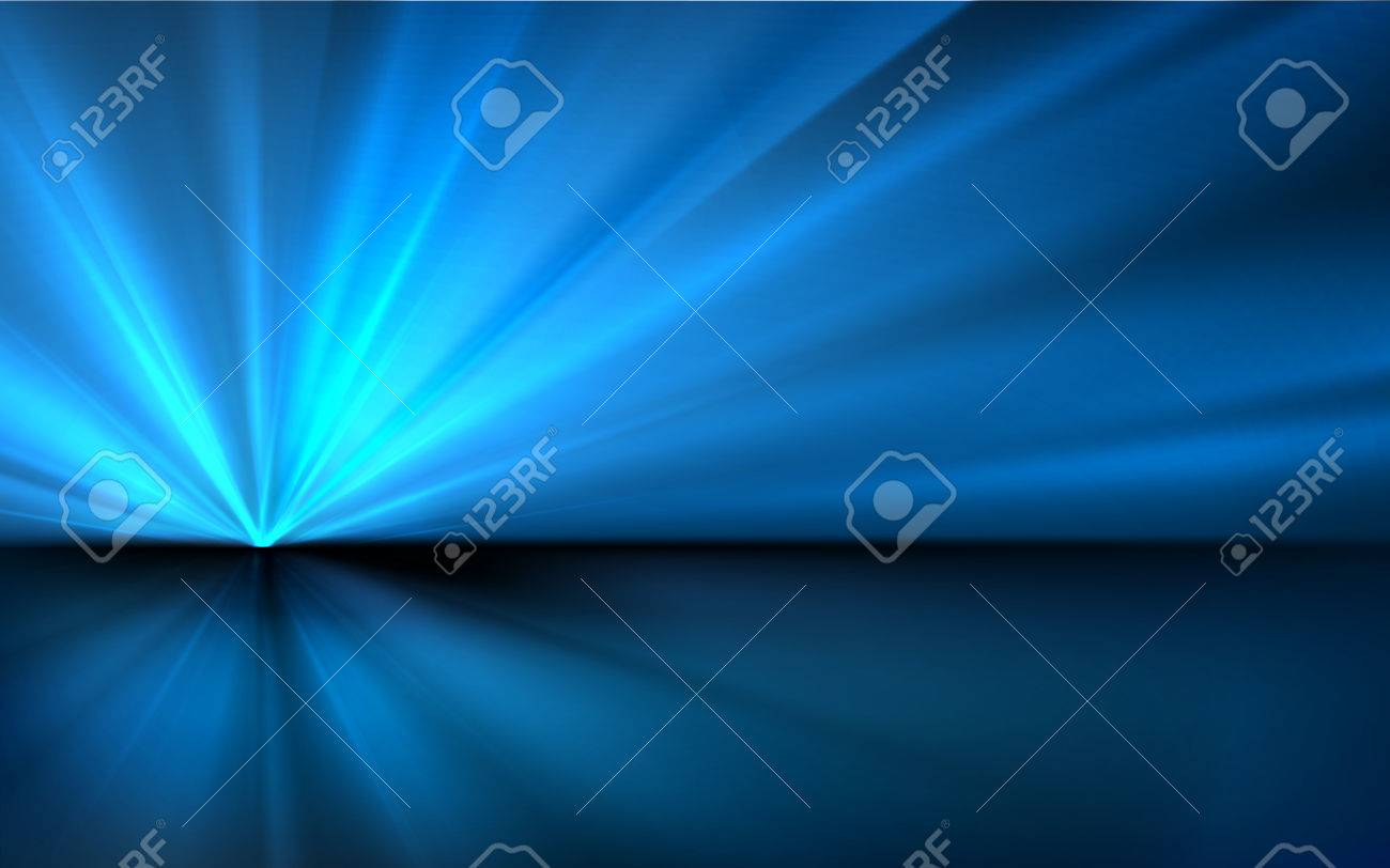 Abstract Blue Vector Background - 51097539