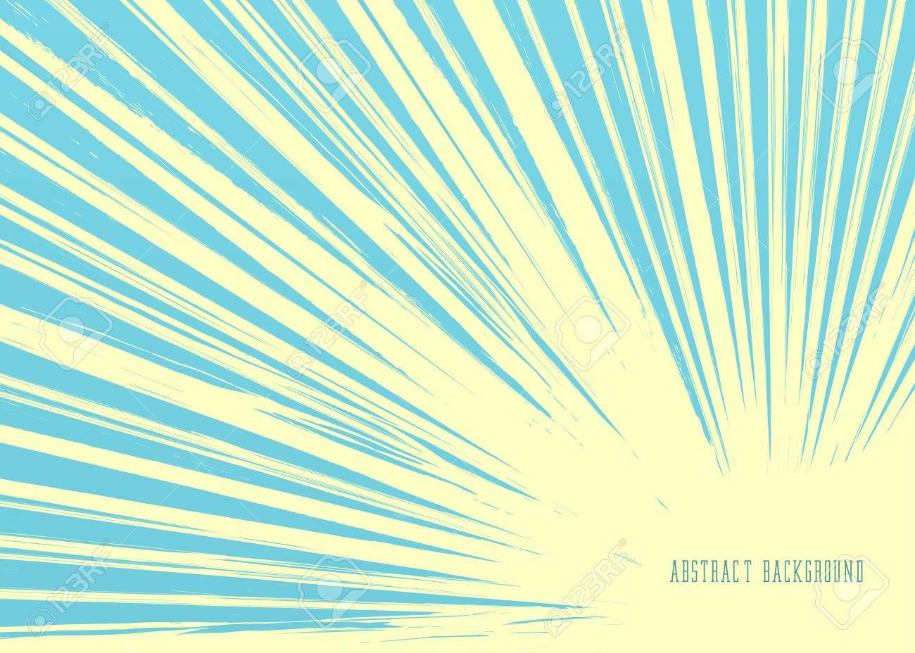 Vintage Background. Retro Sun Rays - 52116614