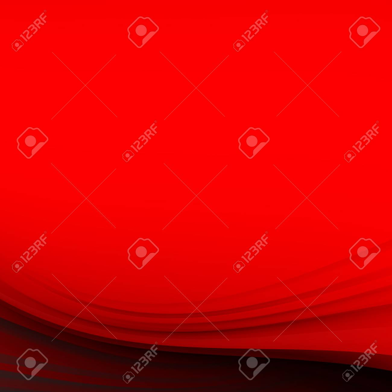 Red Abstract Background. Vector Illustration - 52119388