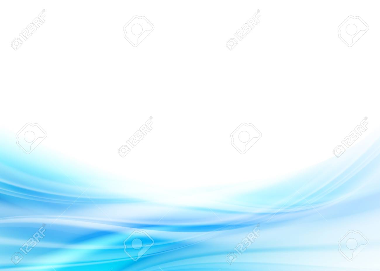 Blue Abstract Background - 56642521