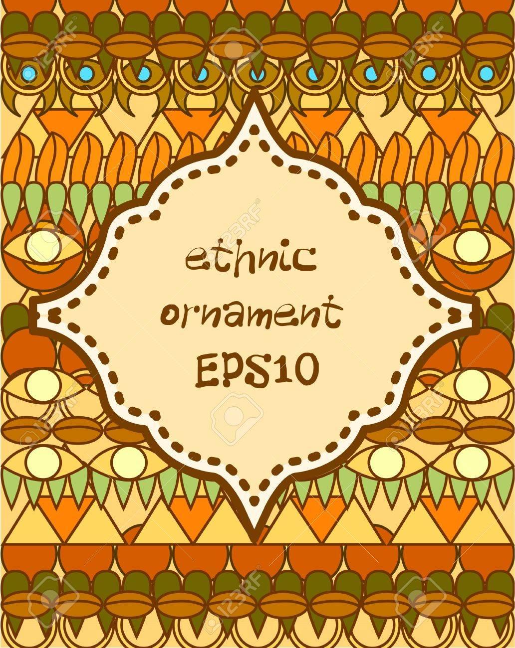 ethnic background Stock Vector - 19069791