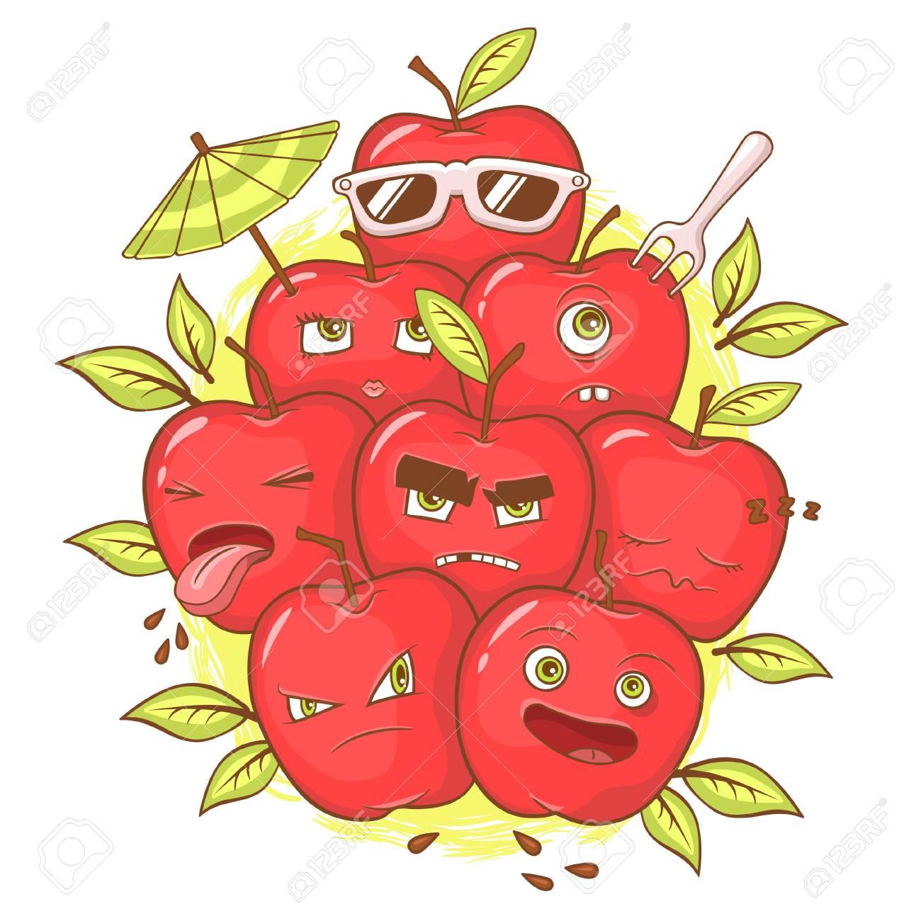 apples Stock Vector - 15696223