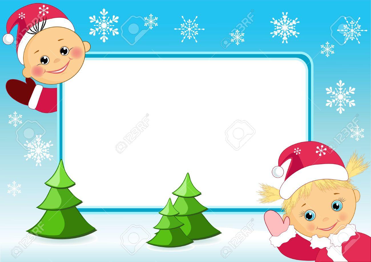Children`s photo frame. Vector illustration. Stock Vector - 11385959