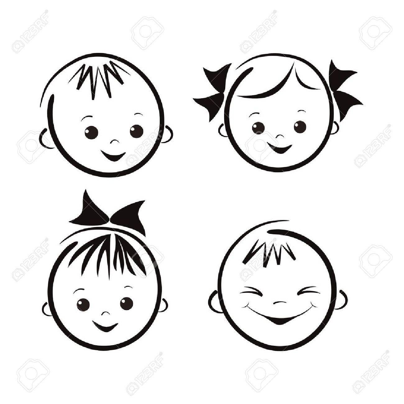 Laughing children Stock Vector - 16183884
