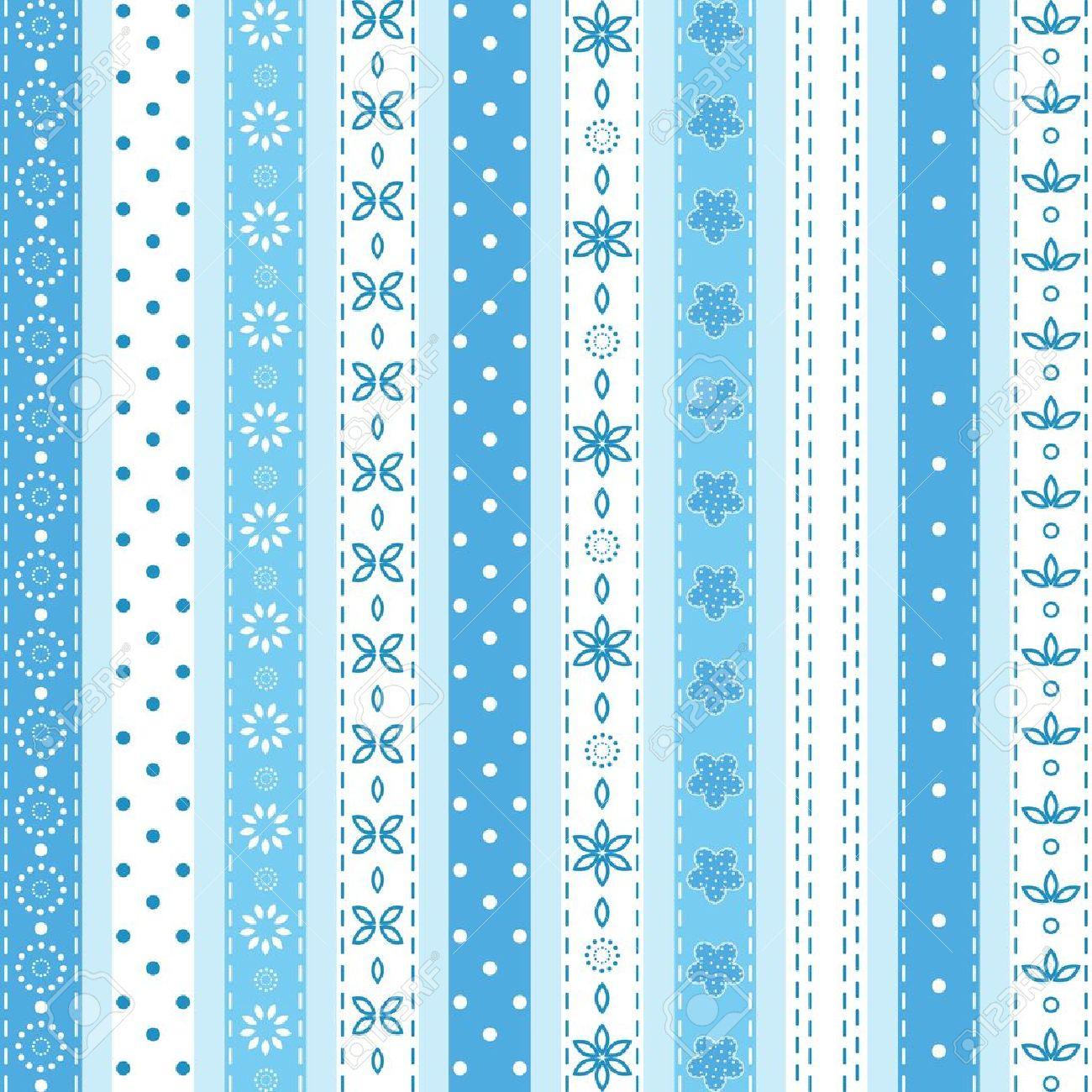 Set blue ribbon Stock Vector - 16184104