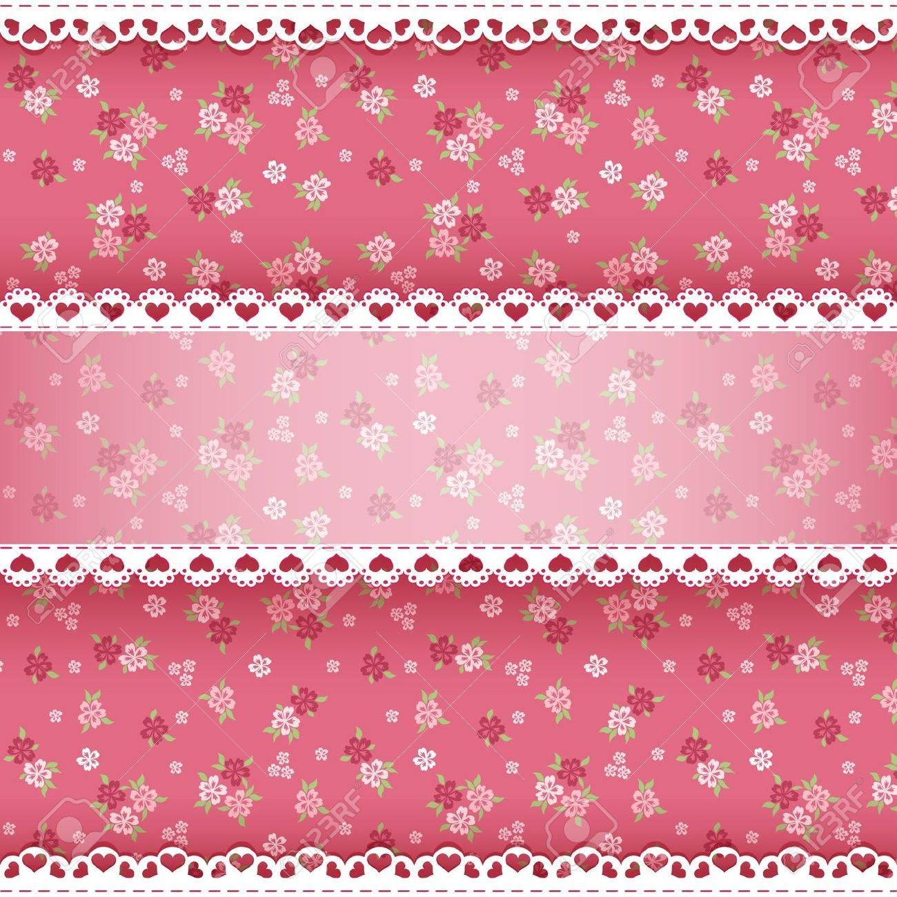 Floral background for scrapbook  Vector illustration Stock Vector - 18253906