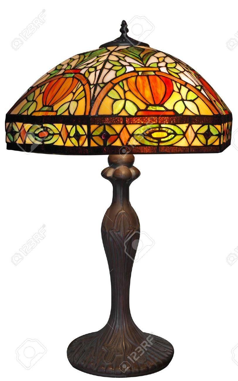Large Lead-light Lamp Stock Photo - 7732853