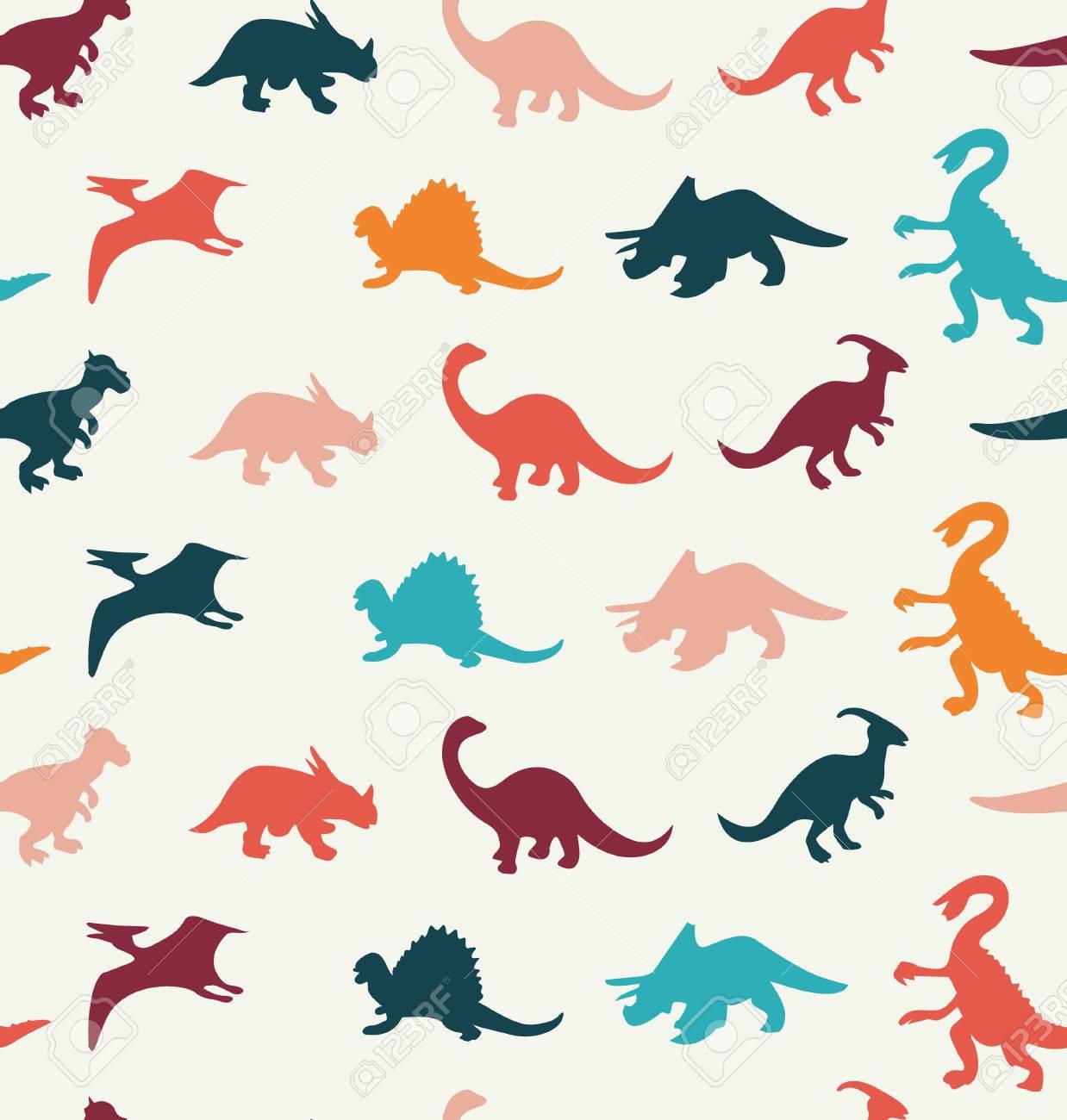 Patron Vector De Dibujos Animados De Colores Diferentes Siluetas De Dinosaurios Ilustracion Ilustraciones Vectoriales Clip Art Vectorizado Libre De Derechos Image 41506014 Vector illustration isolated on white , #sponsored, #set, #silhouettes, #dinosaur, #vector, #white #ad. patron vector de dibujos animados de colores diferentes siluetas de dinosaurios ilustracion