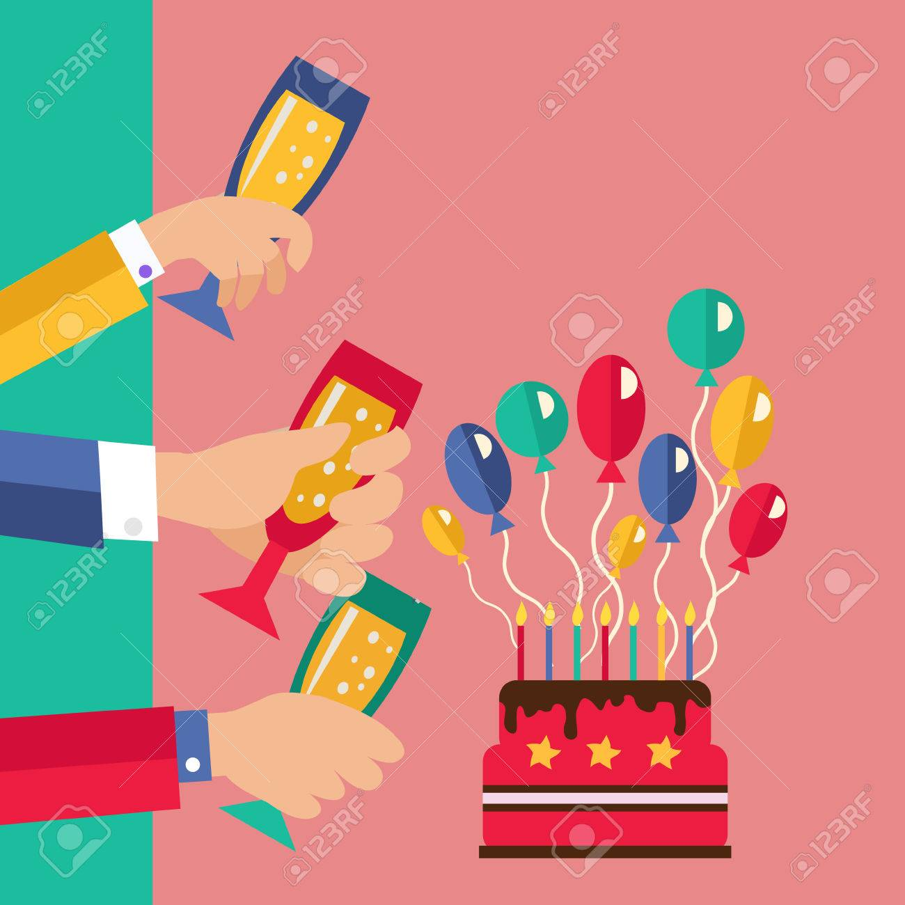 celebration and party invitation card birthday party announcement