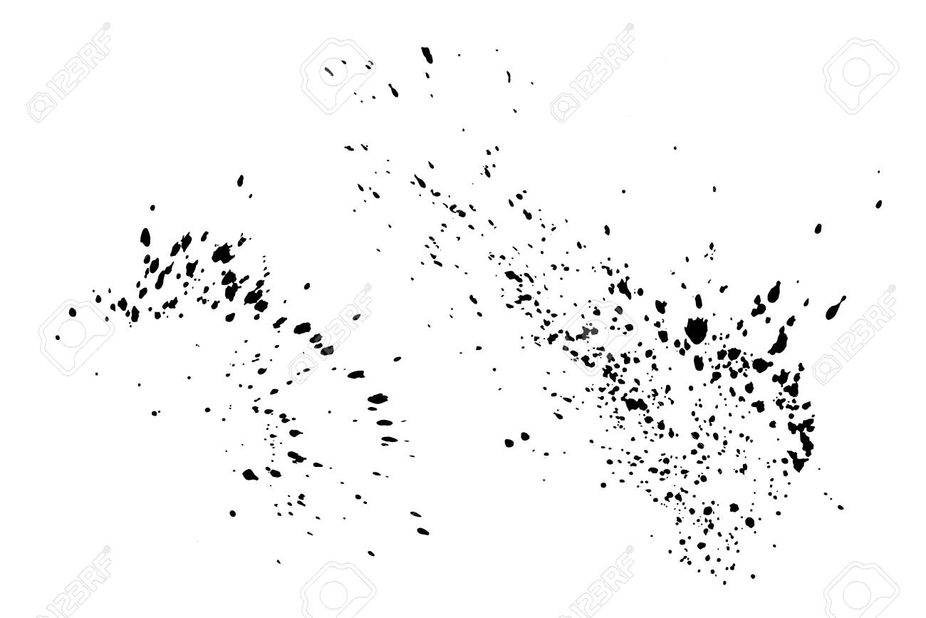 black paint splatter set isolated on white background. water.. royalty free  cliparts, vectors, and stock illustration. image 140287771.  123rf