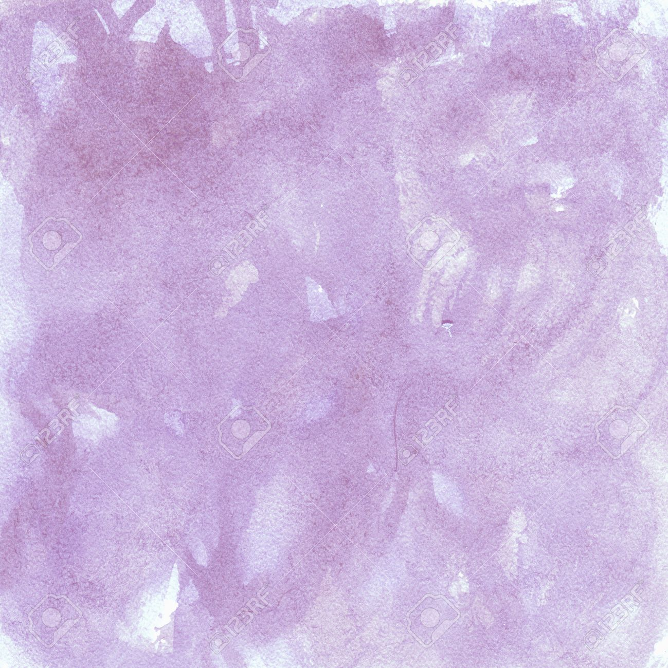Depicting The Texture Background Light Purple Color. Dry Brush, Watercolor,  Effect Pureed. Images