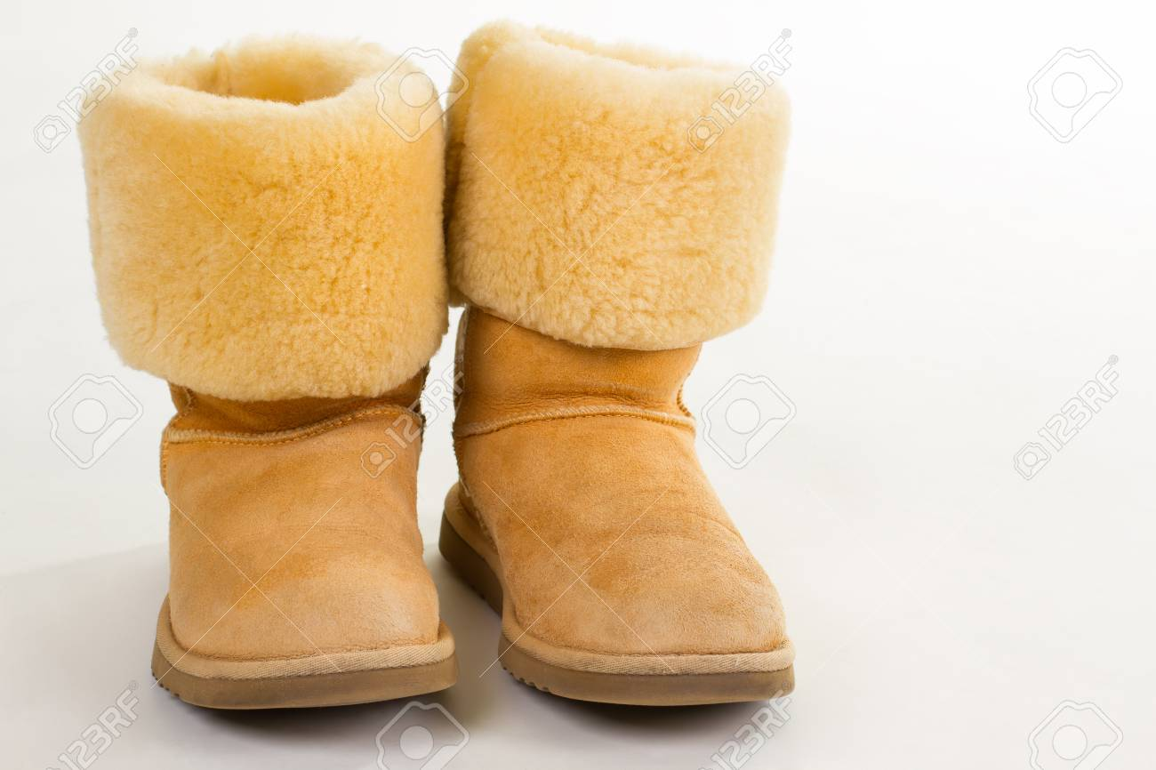 Funny Yellow Winter Australian Boots