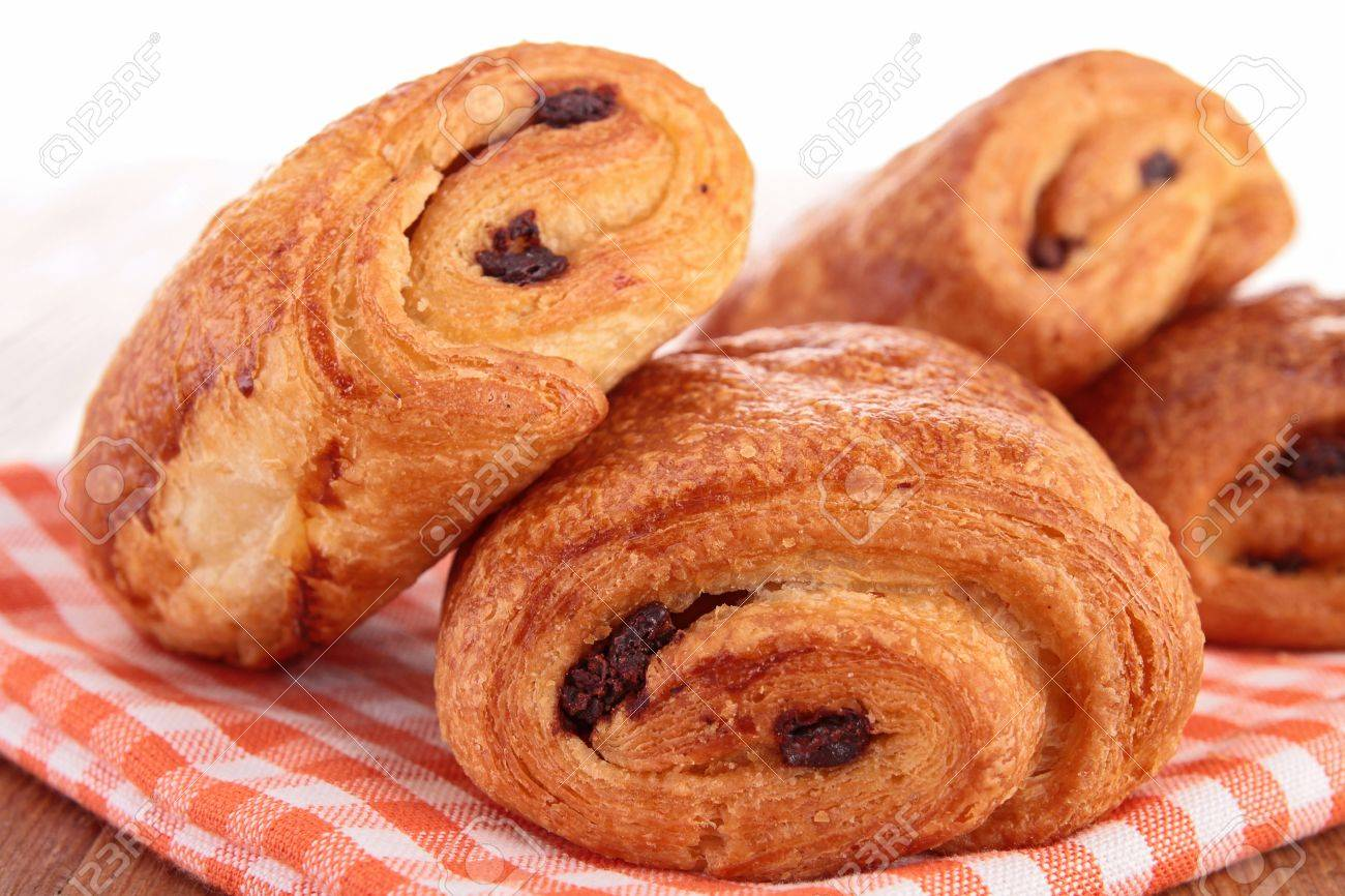 Chocolate Croissant Stock Photos. Royalty Free Chocolate Croissant ...