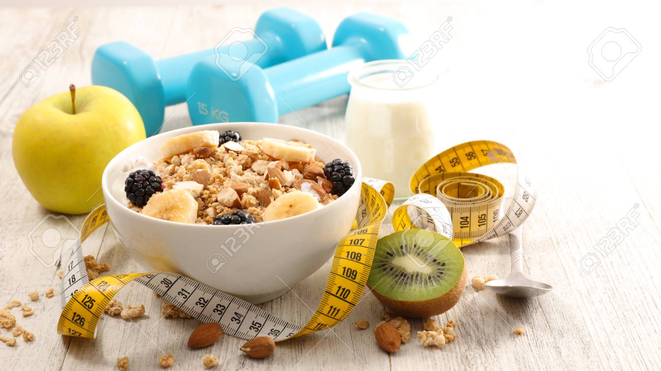 Healthy Breakfast Diet Food Concept Stock Photo Picture And