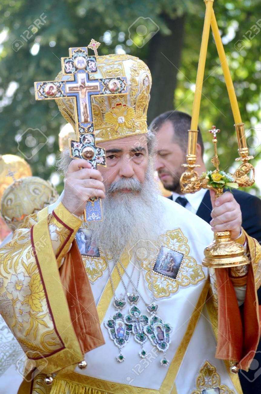 キエフ, ウクライナ、キエフ ・ ペチェールシク大修道院 - 2013 年 7 ...