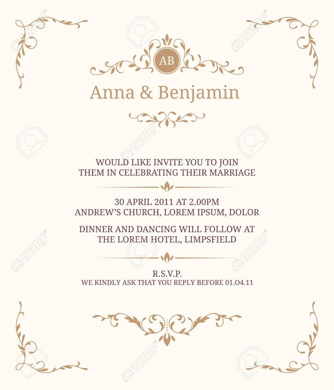 Carte dinvitation avec le monogramme invitation de mariage faites carte dinvitation avec le monogramme invitation de mariage faites gagner la date stopboris Gallery