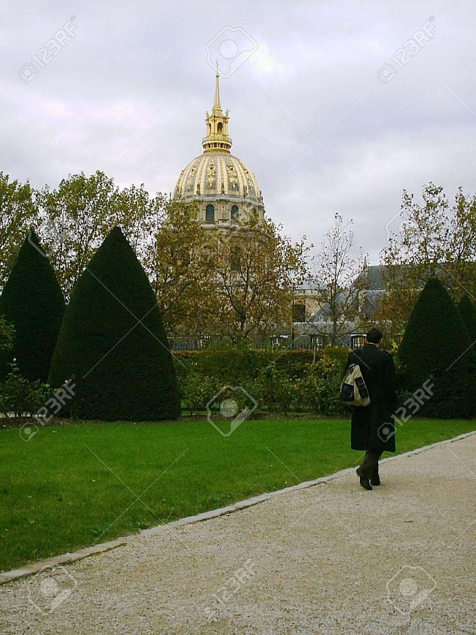 Rodin Museum park Stock Photo - 1415014