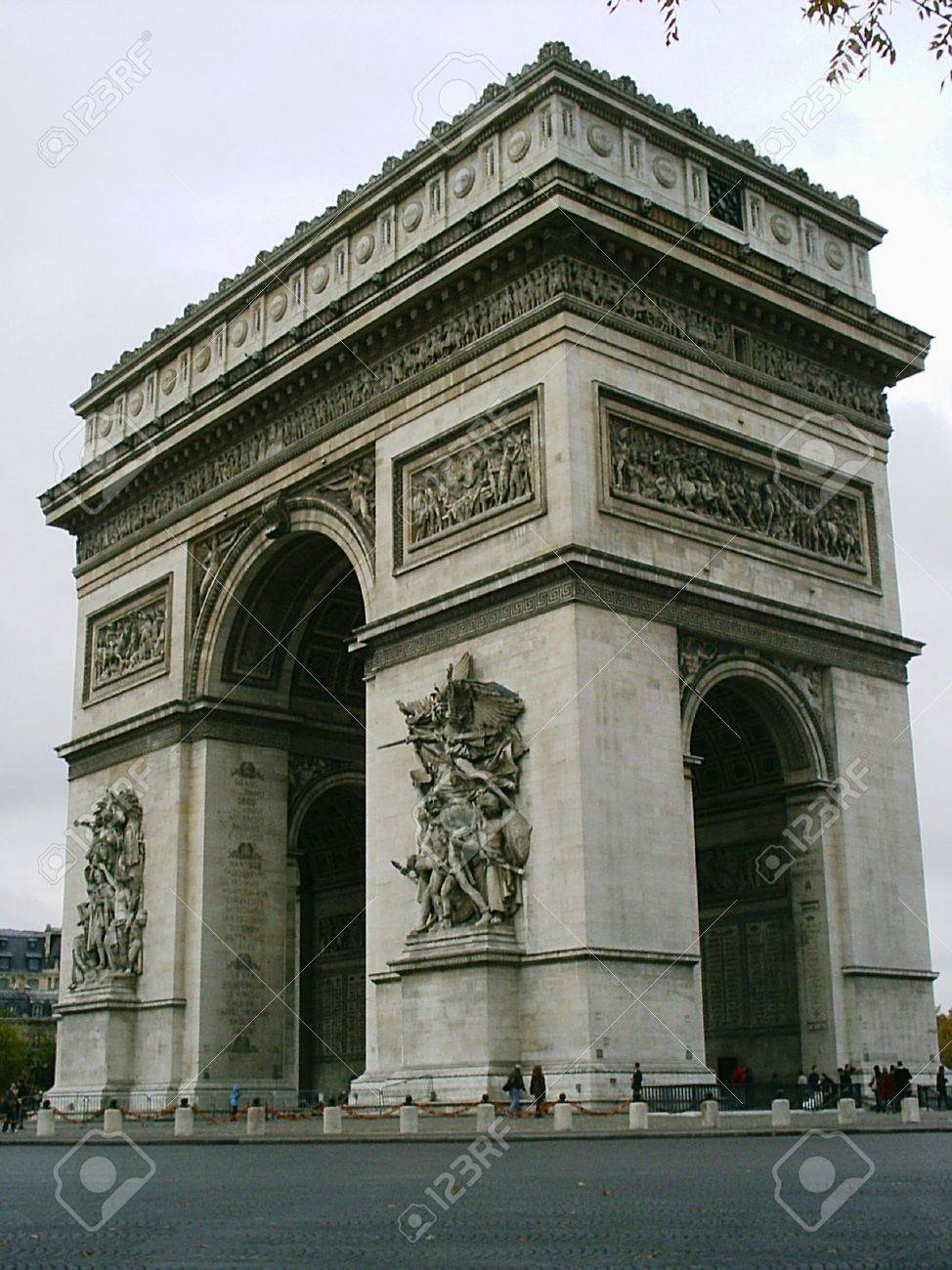 Arc de Triomph in Paris Stock Photo - 1559215
