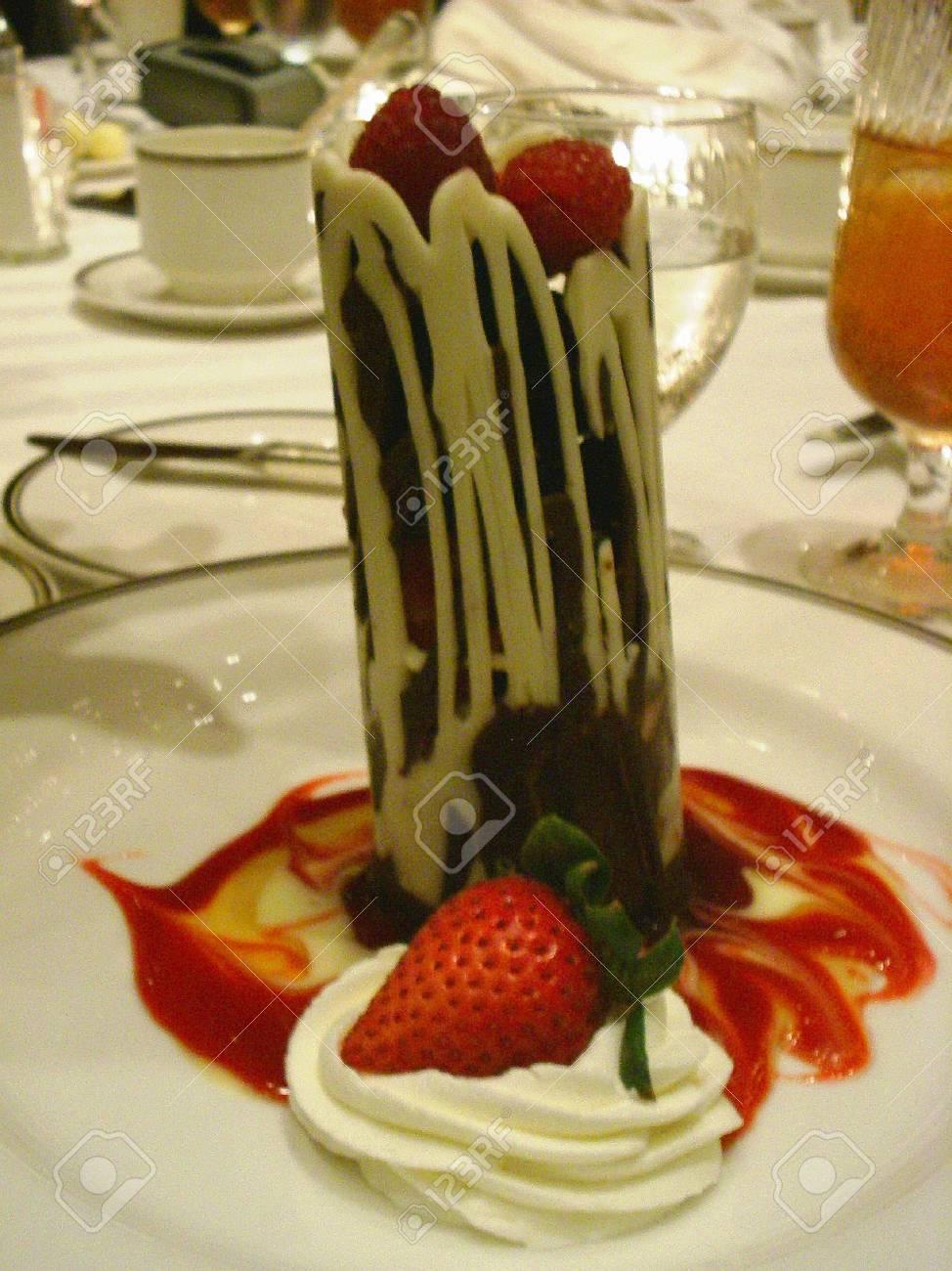 Chocolate dessert Stock Photo - 1656008