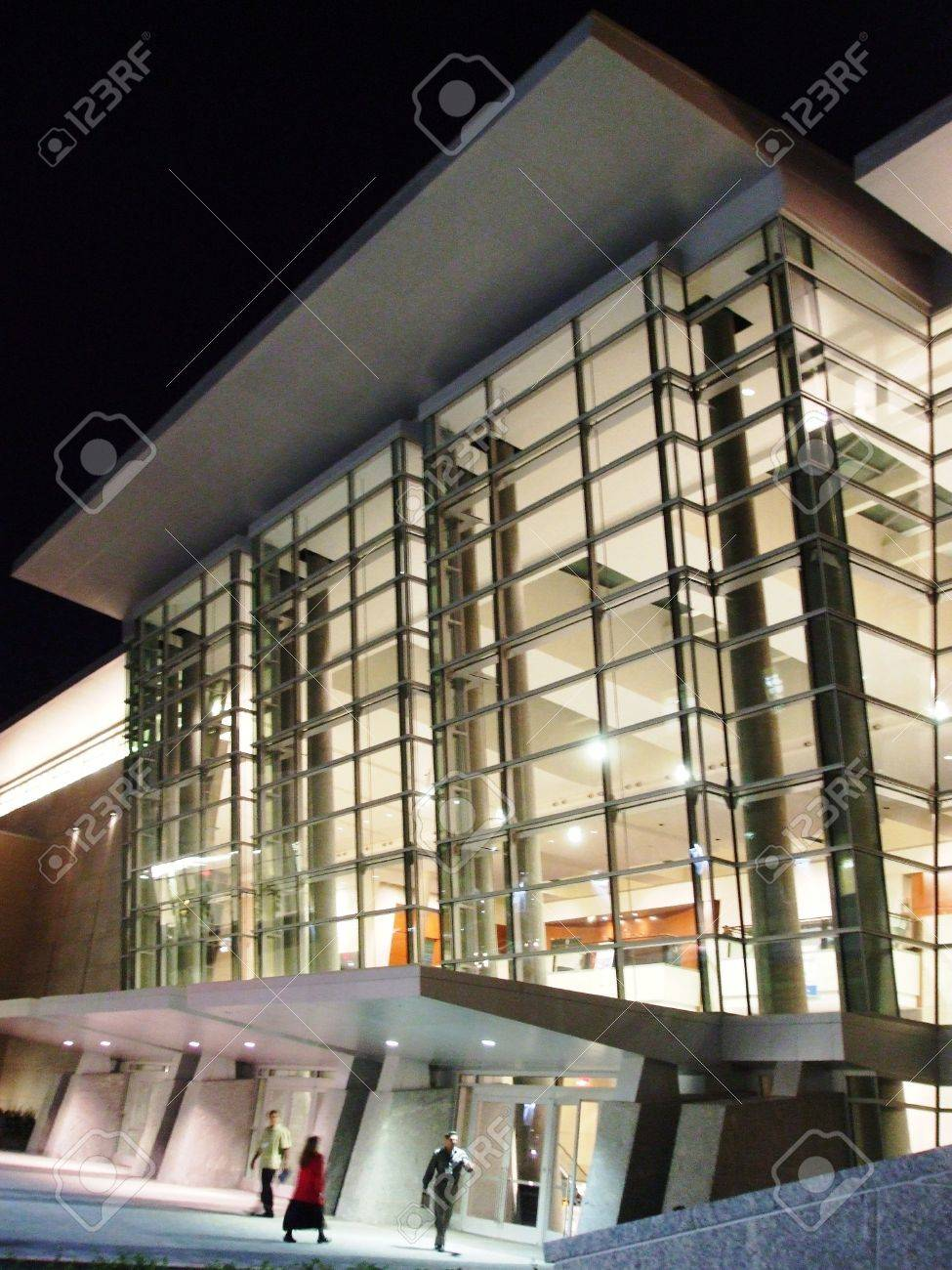 Modern building at night Stock Photo - 3586943