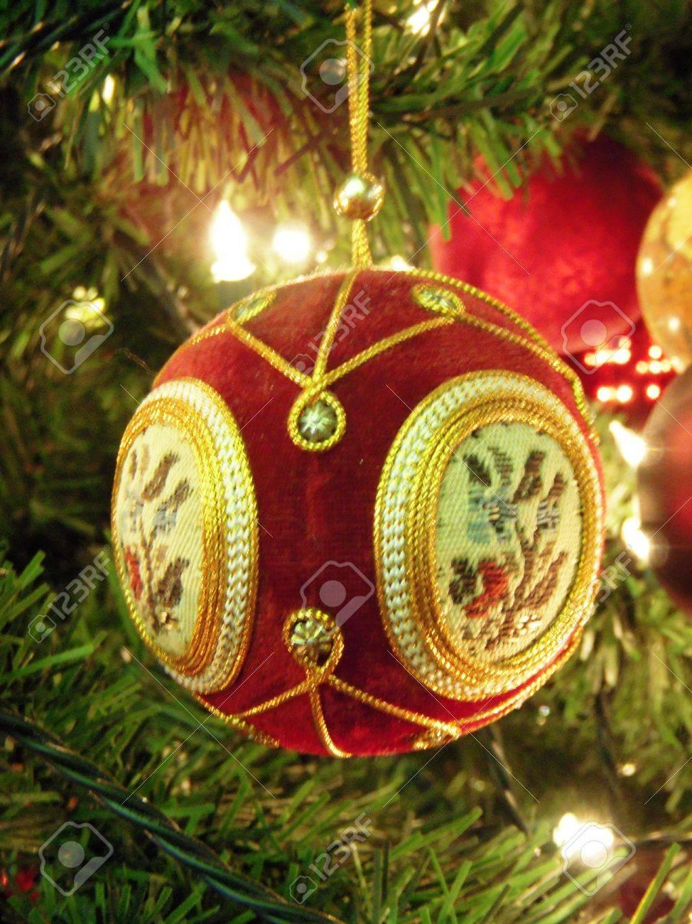 Victorian christmas ornaments - Stock Photo Victorian Christmas Ornament