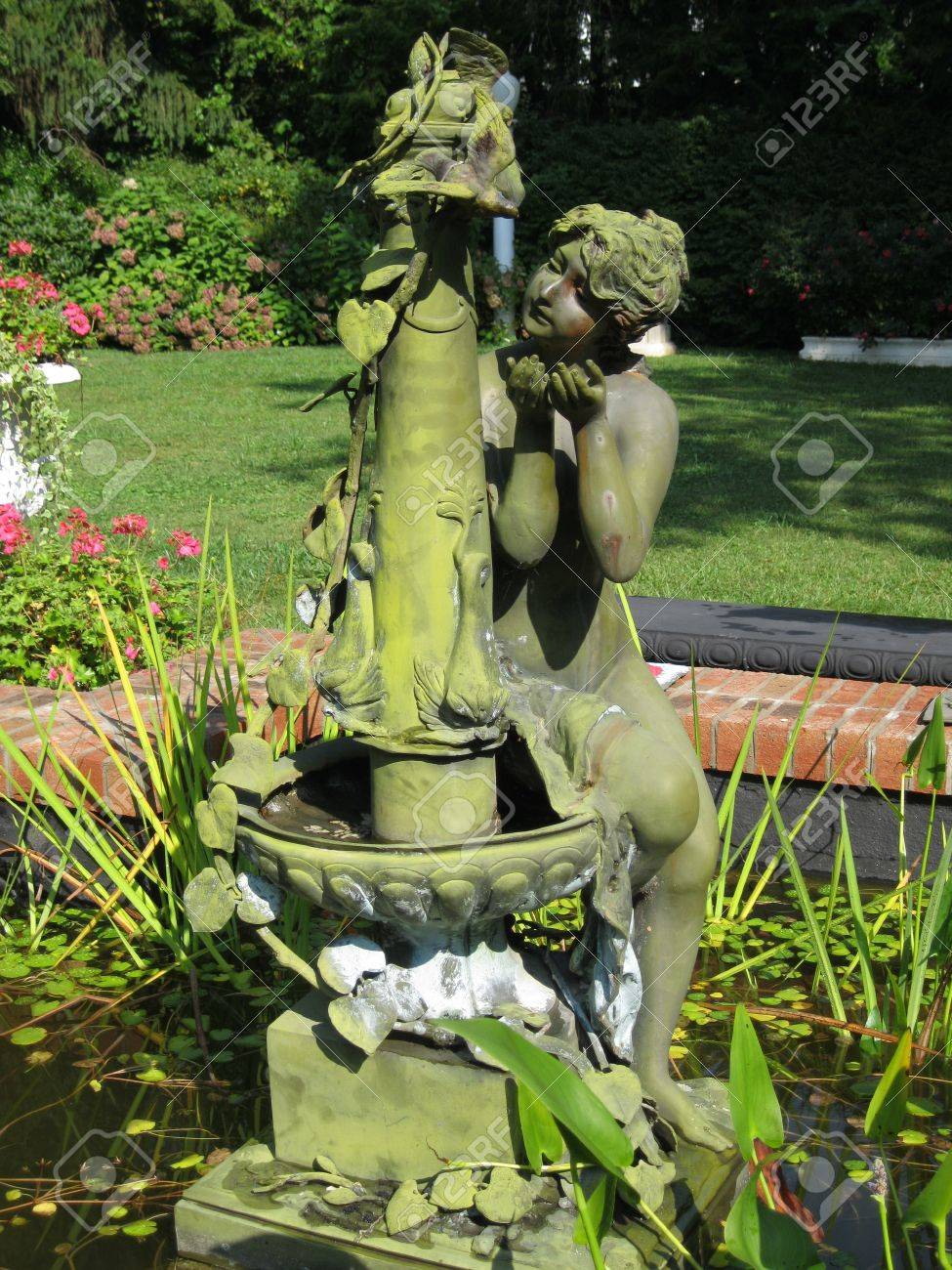 Mermaid fountain Stock Photo - 12128474