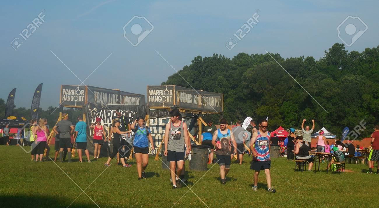June 4, 2016 - Huntersville, NC - Warrior Dash Stock Photo - 78727515