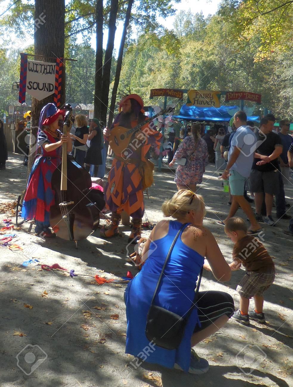 October 16, 2016 - Huntersville, NC - Renessaince Festival Stock Photo - 78727523